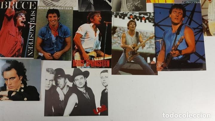Postales: COLECCIÓN DE 44POSTALES Y FOTOGRAFIAS DE ARTISTAS. VARIAS EDITORIALES. AÑOS 80. - Foto 11 - 124586803