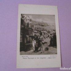 Postales: POSTAL MUSEO MUNICIPAL DE SAN SEBASTIAN. ¡BRAVO TORO! ZO HENRY A. ED. RESINES FOTO.. Lote 125211719