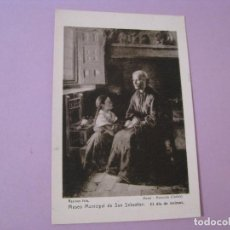 Postales: POSTAL MUSEO MUNICIPAL DE SAN SEBASTIAN. EL DIA DE ANIMAS. ED. RESINES FOTO.. Lote 125211951