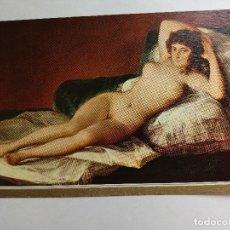 Postales: POSTAL - PINTURA DE GOYA - LA MAJA DESNUDA. Lote 126276791