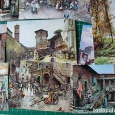 Postales: ROMA SPARITA - ROMA DESAPARECIDA – 50 POSTALES DE LAS ACUARELAS DE ETTORE ROESLER FRANZ (1845-1907). Lote 126507755