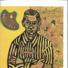 Postales: E.C.RICART - 1917 - JOAN MIRO - POSTAL PRINTED GERMANY - AÑO 1993. Lote 127552939