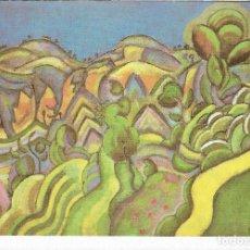 Postales: CIURANA - THE PATH - 1917 - JOAN MIRO - POSTAL PRINTED GERMANY - AÑO 1993. Lote 127553243