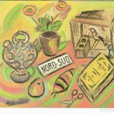 Postales: NORD-SUD - 1917 - JOAN MIRO - POSTAL PRINTED GERMANY - AÑO 1993. Lote 127553491