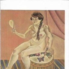 Postales: NUDE MIRROR - 1919 - JOAN MIRO - POSTAL PRINTED GERMANY - AÑO 1993. Lote 127554071