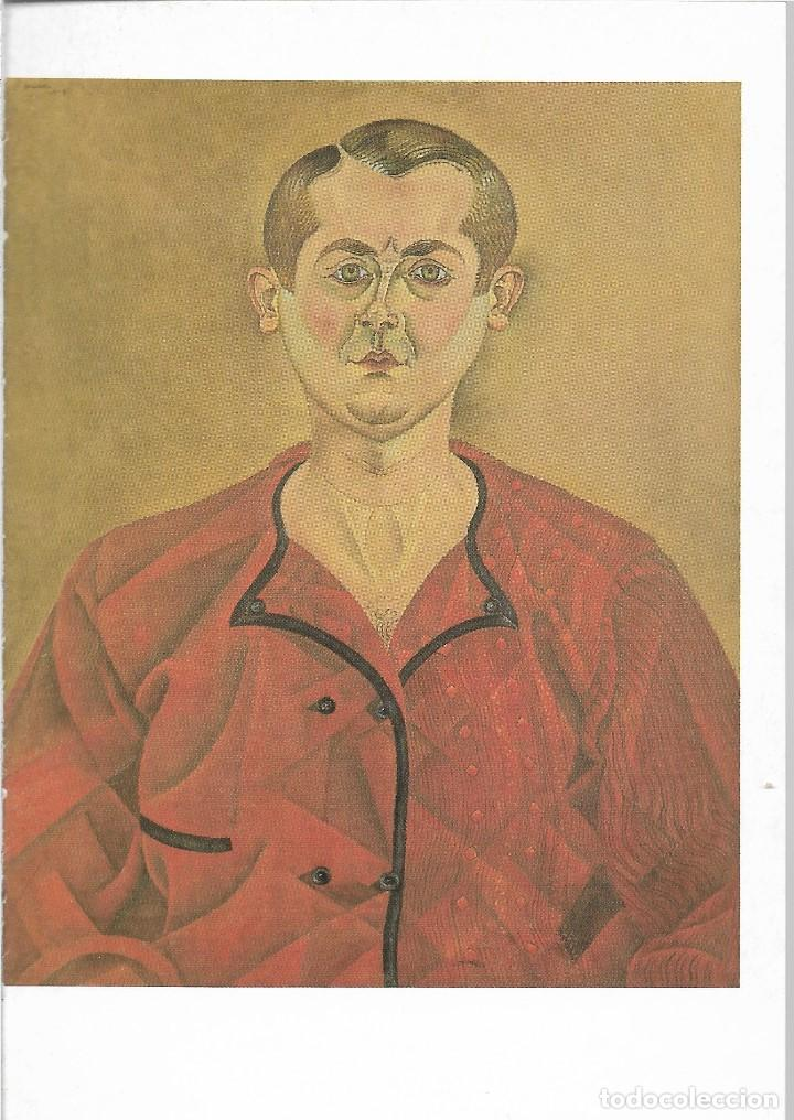 AUTORRETRATO - 1919 - JOAN MIRO - POSTAL PRINTED GERMANY - AÑO 1993 (Postales - Postales Temáticas - Arte)