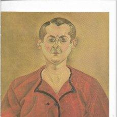 Postales: AUTORRETRATO - 1919 - JOAN MIRO - POSTAL PRINTED GERMANY - AÑO 1993. Lote 127554167