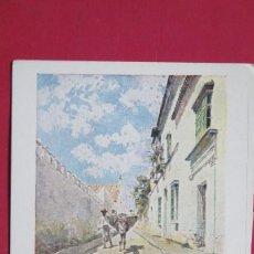 Postales: POSTAL. PAISAJES ANDALUCES. UNA CALLE DE BORNOS. Lote 127864023