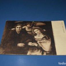 Postales: ANTIGUA POSTAL - ARTE - UNION POSTAL UNIVERSAL - LORENZO LOTTO - MUSEO DEL PRADO - MADRID. Lote 128615995