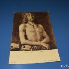 Postales: POSTAL SIN CIRCULAR - UNION POSTAL UNIVERSAL - MANTEGNA - ECCE HOMO - MUSEO DEL LOUVRE - PARIS. Lote 128616483