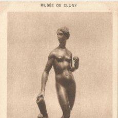 Postales: POSTAL ESCULTURA ARTE FRANCÉS (S XVII), EVA - MUSEO CLUNY - EDIT.H.M. 54 - S/C. Lote 129425911