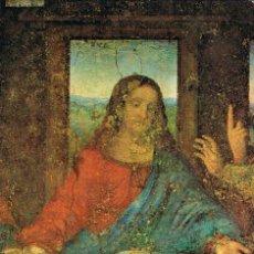 Postales: LEONARDO DA VINCI, LA ULTIMA CENA (FRAGMENTO), EDITADA EN ITALIA. Lote 129431367