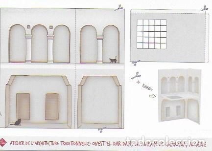 ATELIER DE L' ARCHITECTURE TRADITIONELLE: OUEST EL DAR DANS LA MAISON DE GHARDAÏA, ALGÉRIE. (Postales - Postales Temáticas - Arte)