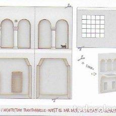 Postales: ATELIER DE L' ARCHITECTURE TRADITIONELLE: OUEST EL DAR DANS LA MAISON DE GHARDAÏA, ALGÉRIE.. Lote 130091083