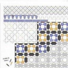 Postales: ATELIER DE L' ARCHITECTURE TRADITIONELLE: COULEUR ET ORNEMENT DANS LES MAISONS DE MARRAKECH, MAROC. Lote 130091395