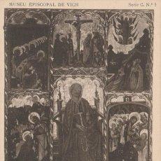 Postales: POSTAL VICH MUSEU EPISCOPAL - SANTA MAGDALENA - RETAULE - SEGLE XV - SERIE C Nº 5 . Lote 130985600
