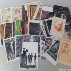 Postales: GRAN LOTE DE 97 TARJETAS POSTALES DE ARTE.. Lote 131250114