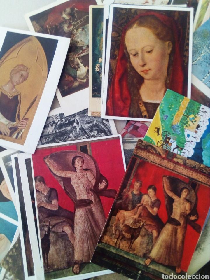 Postales: GRAN LOTE DE 97 TARJETAS POSTALES DE ARTE. - Foto 2 - 131250114