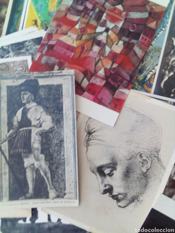 Postales: GRAN LOTE DE 97 TARJETAS POSTALES DE ARTE. - Foto 3 - 131250114