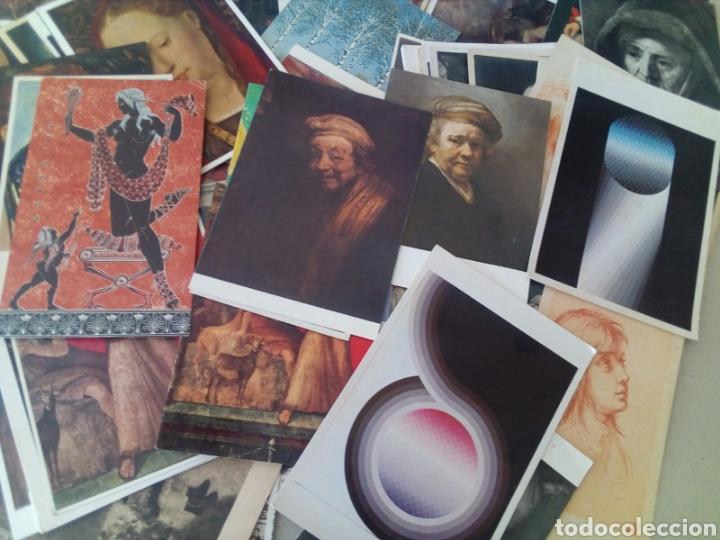 Postales: GRAN LOTE DE 97 TARJETAS POSTALES DE ARTE. - Foto 4 - 131250114