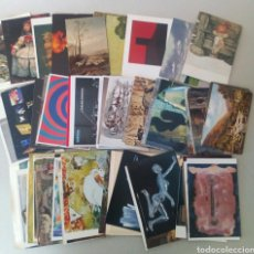 Postales: GRAN LOTE DE 120 TARJETAS POSTALES DE ARTE.. Lote 131251296