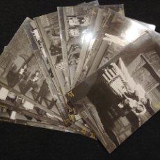 Postales: MOLINOS DE VIENTO INDUSTRIA FOTOGRAFICA 10 POSTALES. Lote 131277134