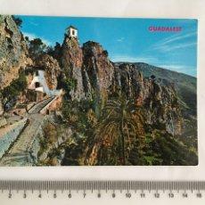 Postales: POSTAL. GUADALEST. ALICANTE. CASTILLO. HNOS. GALIANA. H. 1961?. Lote 131779641