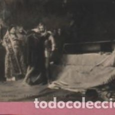 Postales: POSTAL DE LA PINTURA D MORENO CARBONERO LA CONV, DEL DUQUE D GANDIA - HELIOTIPIA ARTISTICA - MADRID. Lote 131856590
