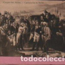 Postales: POSTAL DE LA PINTURA D CASADO DEL ALISAL CAPITULACIÓN DE BAILÉN - HELIOTIPIA ARTISTICA - MADRID. Lote 131858174