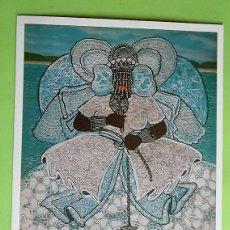 Cartoline: CUADRO: YEMANJÁ DE LENA DA BAHIA. NUEVA. COLOR. Lote 246752125