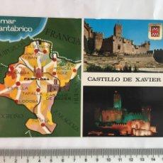 Postales: POSTAL. CASTILLO DE XAVIER. ED. FISA. H. 1961?. Lote 132002723