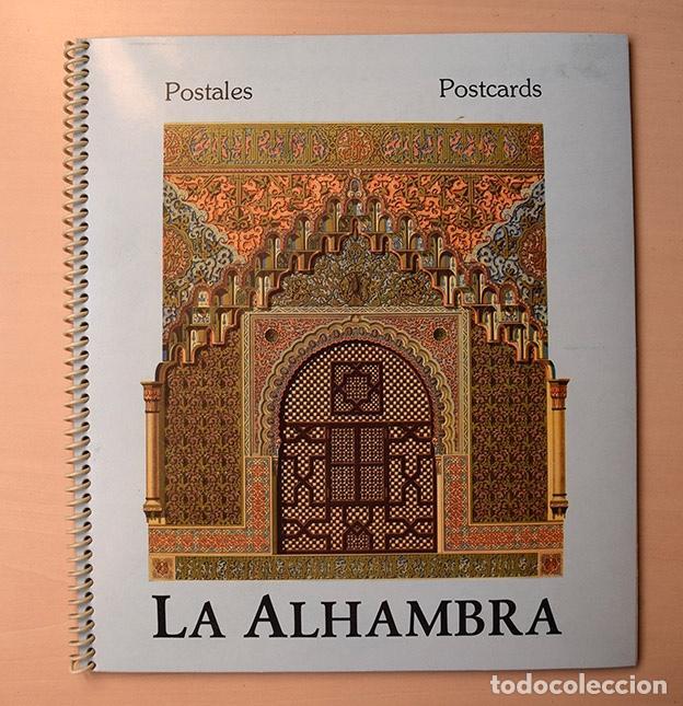 LA ALHAMBRA - GRANADA - CUADERNO 20 POSTALES SEPARABLES - ADIR EDITORES, 1983 (Postales - Postales Temáticas - Arte)