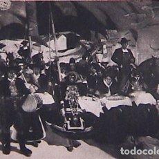 Postales: CASTILLA. LA FIESTA DEL PAN. REPRODUCCIÓN EN B/N DE LA OBRA DE JOAQUIN SOROLLA. NO CIRCULADA.. Lote 128552747