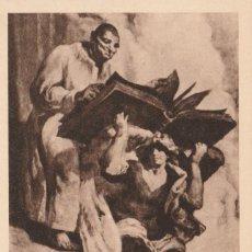 Postales: POSTAL VICH - CATEDRAL - L´EVANGELISTA SANT MATEU - J.M. SERT - ED MUMBRU - NUEVA - Nº 58. Lote 132732662
