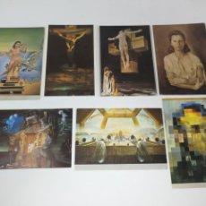 Postales: LOTE 7 POSTALES EDICIONES TEATRO MUSEO DALI, FIGUERAS . Lote 132948954