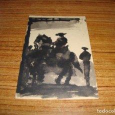 Postales: (ALB-TC-26) POSTAL PICASSO TOROS Y TOREROS CERCLE D'ART PARIS 1961 SIN CIRCULAR. Lote 132966518