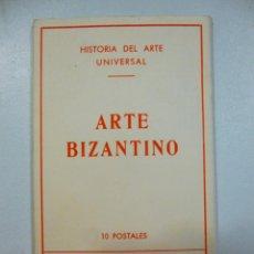 Postales: LOTE DE 5 CARPETAS CON 50 POSTALES ARTE GRIEGO BIZANTINO EGIPCIO ETRUSCO Y ROMANO ESTAMPERIA D´ART. Lote 133432694