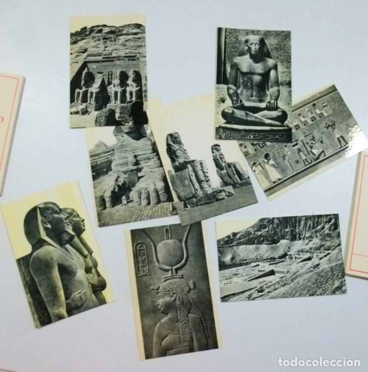 Postales: Lote de 5 carpetas con 50 postales Arte Griego Bizantino Egipcio Etrusco y Romano Estamperia d´art - Foto 6 - 133432694