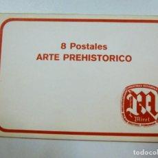 Postales: LOTE DE 4 CARPETAS CON 30 POSTALES ARTE GRIEGO EGIPCIO PREHISTORICO PRECOLOMBINO EDITORIAL MIRET. Lote 133433170