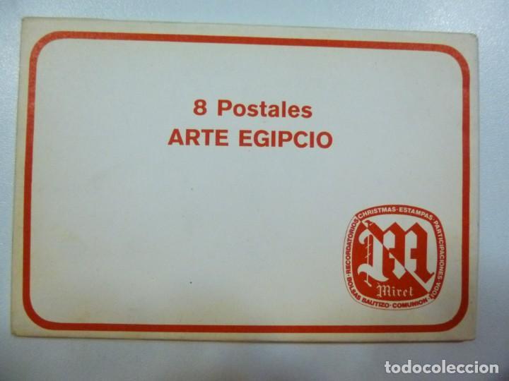 Postales: Lote de 4 carpetas con 30 postales Arte Griego Egipcio Prehistorico Precolombino Editorial Miret - Foto 2 - 133433170