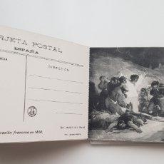 Postales: 24 TARJETAS CUADROS DE GOYA . MUSEO DEL PRADO. Lote 133472582