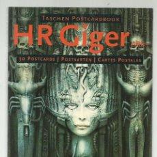 Postales: LIBRO DE 30 POSTALES DE H R GIGER. ARTE FANTÁSTICO. TASCHEN, 1995. Lote 133649894