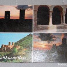 Postales: MONASTERIO DE SAN PEDRO DE RODA? (GERONA).. Lote 133723394