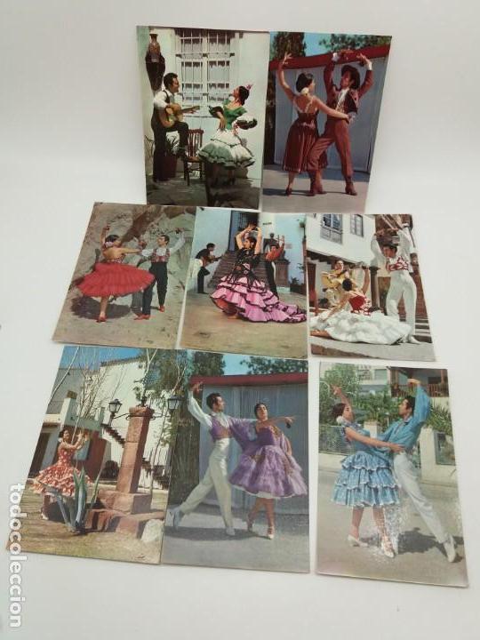 LOTE DE POSTALES DE SEVILLANAS, LUX-COLOR, LAMINOGRAF (Postales - Postales Temáticas - Arte)