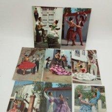 Postales: LOTE DE POSTALES DE SEVILLANAS, LUX-COLOR, LAMINOGRAF. Lote 134342466