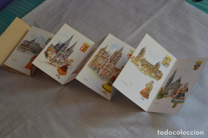 Postales: AANTIGUO SET / LIBRITO DE POSTALES CON BRILLO / BRILLANTINA - ESPERÓN - ESPAÑA 10 CATEDRALES - Foto 5 - 134647118