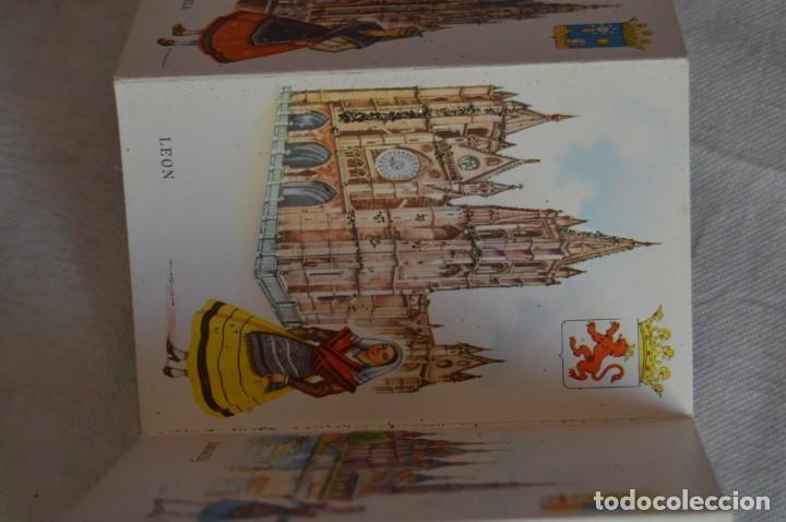 Postales: AANTIGUO SET / LIBRITO DE POSTALES CON BRILLO / BRILLANTINA - ESPERÓN - ESPAÑA 10 CATEDRALES - Foto 6 - 134647118