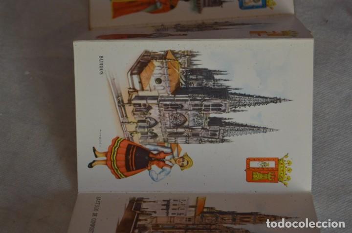 Postales: AANTIGUO SET / LIBRITO DE POSTALES CON BRILLO / BRILLANTINA - ESPERÓN - ESPAÑA 10 CATEDRALES - Foto 7 - 134647118