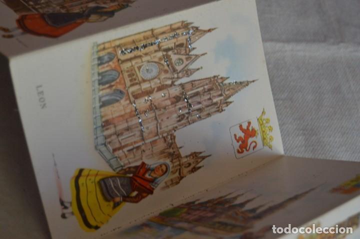 Postales: AANTIGUO SET / LIBRITO DE POSTALES CON BRILLO / BRILLANTINA - ESPERÓN - ESPAÑA 10 CATEDRALES - Foto 9 - 134647118