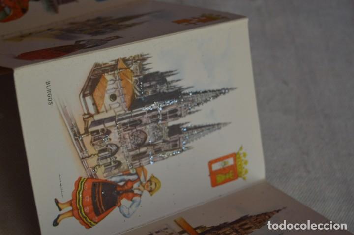 Postales: AANTIGUO SET / LIBRITO DE POSTALES CON BRILLO / BRILLANTINA - ESPERÓN - ESPAÑA 10 CATEDRALES - Foto 10 - 134647118